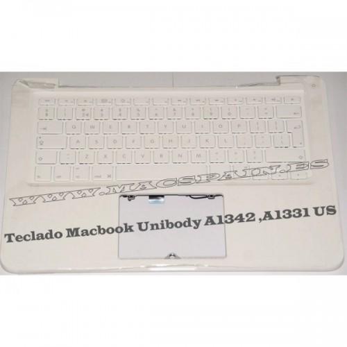 "TECLADO MacBook PRO 13"" Unibody A1278 MB467 MC374 (Español)"