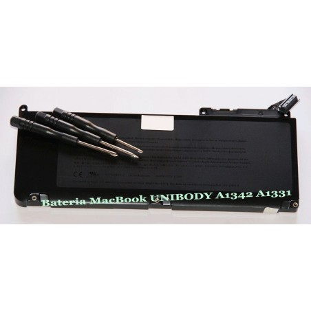 "MACBOOK PRO 13"" 15"" 17"" LAPTOP BATTERY UNIBODY A1342 A1331 63.5WH"