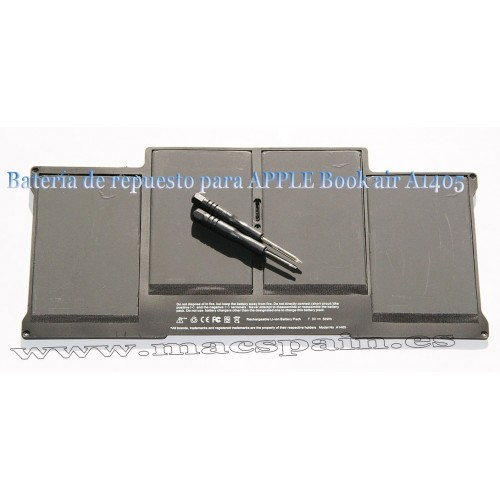 "Bateria Mac APPLE Macbook Air 13"" A1369 destornilladores incluidos"