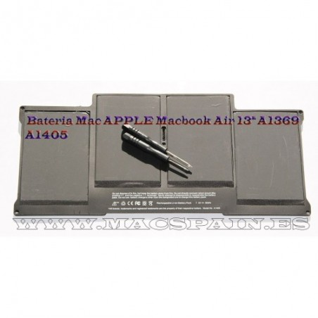 "Bateria Mac APPLE Macbook Air 13"" A1369"
