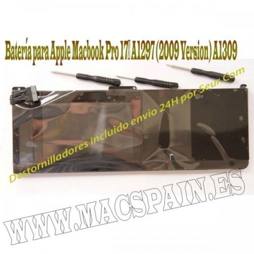 "Bateria Macbook Pro 17"" para A1297 - MC226 ENTREGA 24H"