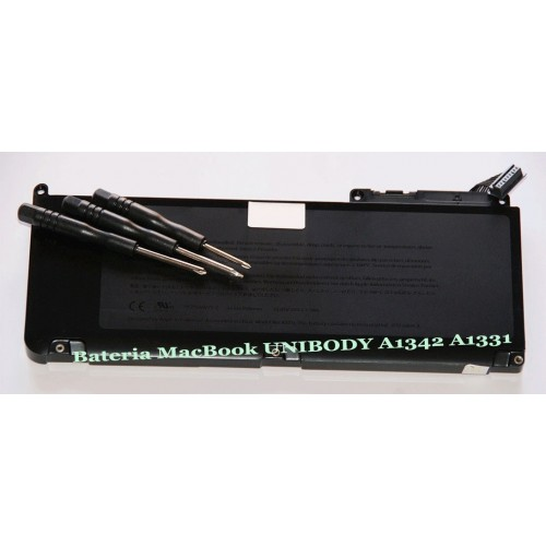 Bateria para portátil Apple A1342 MacBook 13''& destornilladores incluidos