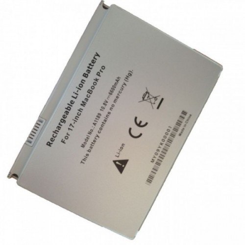 "Batería para APPLE MacBook Pro 17"" A1151 10.8V 6600mAh"