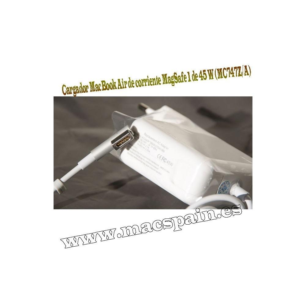Cargador MacBook Air de corriente MagSafe 1 de 45 W (MC747Z/A)