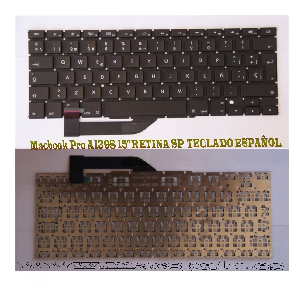 "Macbook Pro A1398 15"" RETINA SP TECLADO ESPAÑOL"