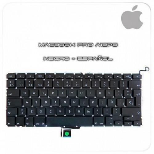 """TECLADO MacBook PRO 13"""" Unibody A1278 MB467 MC374 (Español)- 24H SEUR.ES"""