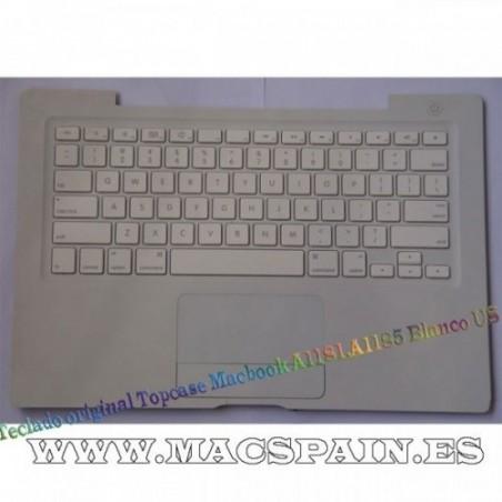 Teclado original Topcase Macbook A1181 Blanco US