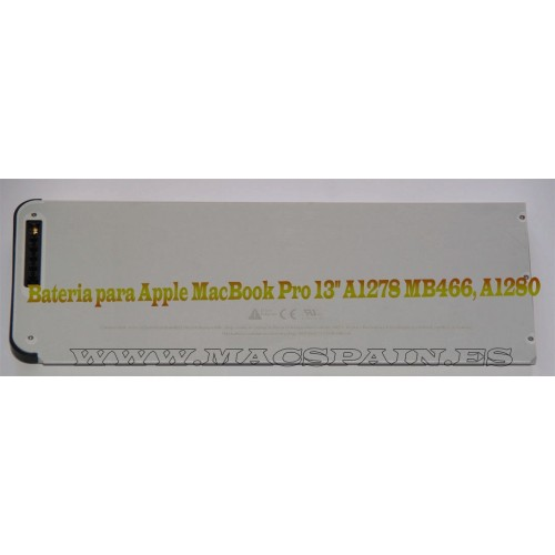 "Bateria para Apple MacBook Pro 13"" A1278 MB466"