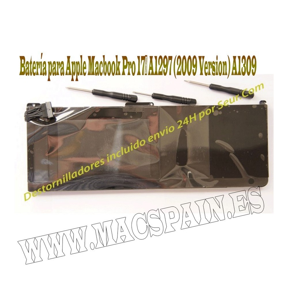 "Bateria Macbook Pro 17"" para A1297 - MC226 ENTREGA 24H"