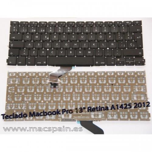 "Teclado Macbook Pro 13"" Retina A1425 2012 ES"