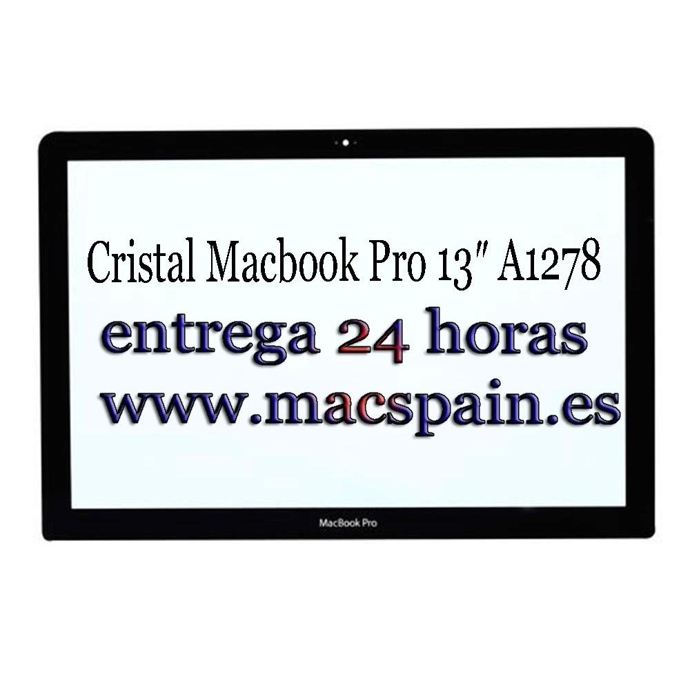Cristal Macbook Pro 13″ A1278 etrega 24 horas desde España