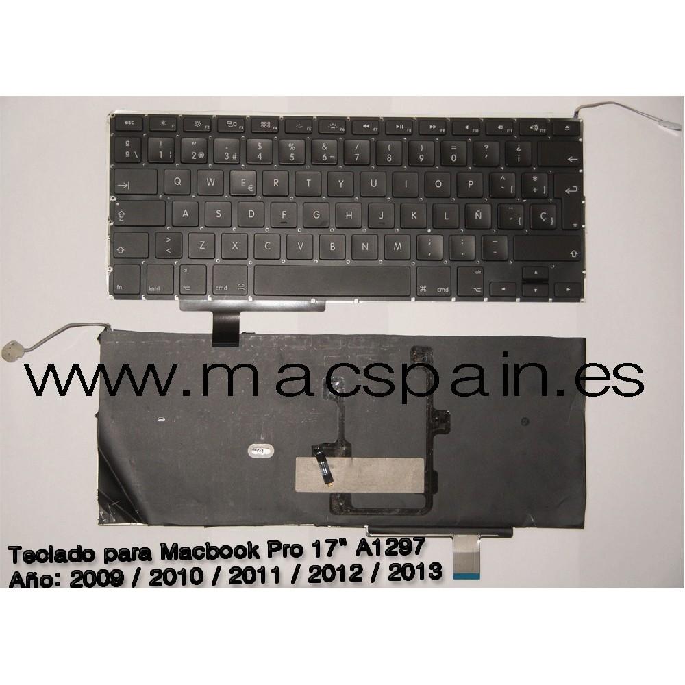 Teclado Español  APPLE MACBOOK PRO  A1297 entrega 24H