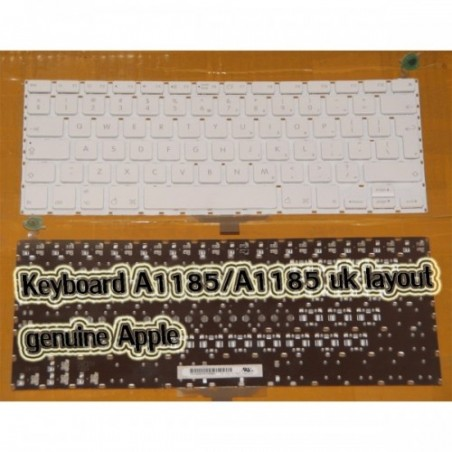 "Teclado para MacBook 13"" 13.3"" KEYBOARD A1181 A1185 Version Uk"