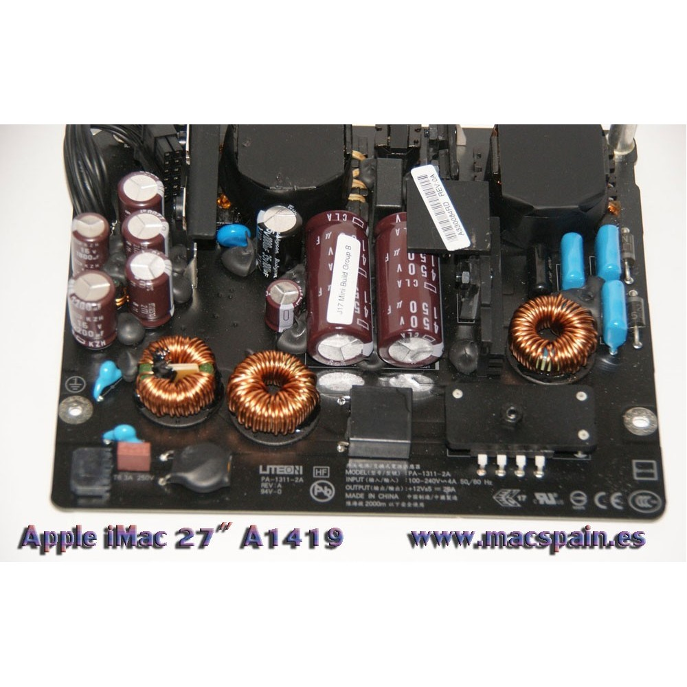 """Power Supply (300W) iMac 27"""" A1419 Fuente de Alimentación 2012-2015"""