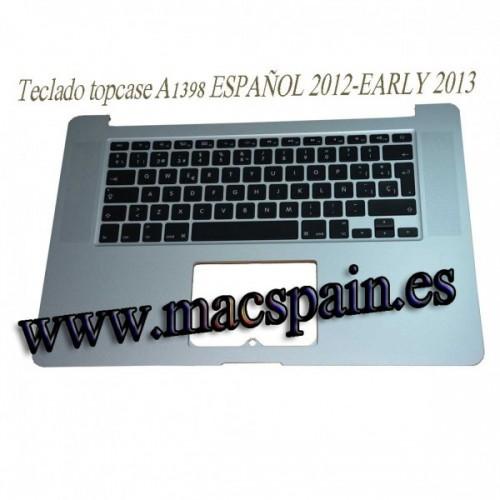 "Teclado con Topcase Español MacBook Pro 15"" 2.8GHz Core i7 (ME665LL/A"