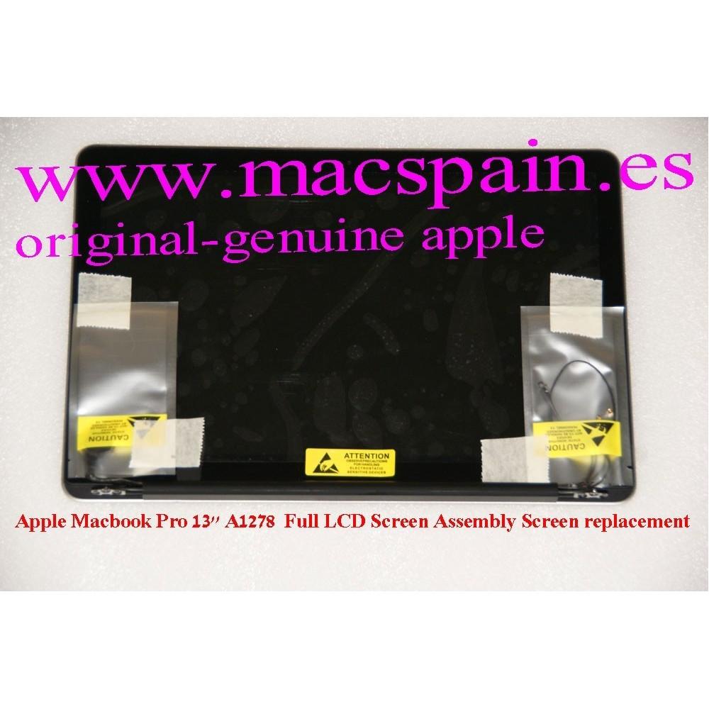 Conjunto completo para A1278 MacBook Pro LCD-VIDRIO-CARCASA-CABLES MC724LL/A