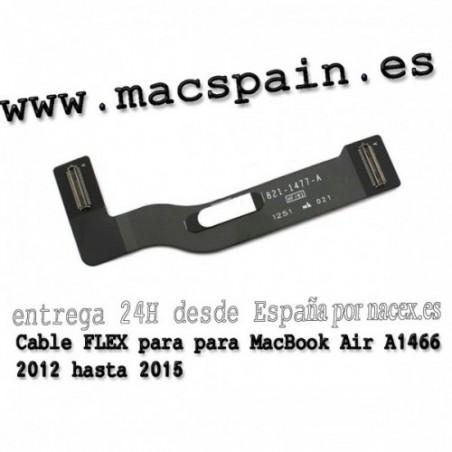 Cable FLEX de la placa de audio de Power Jack 821-1722-A para MacBook A1466 2013 hasta 2016
