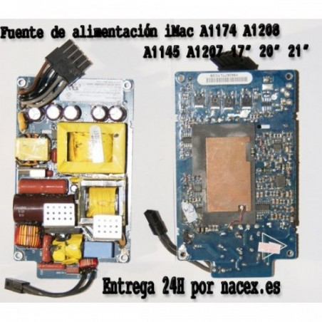 "Fuente Alimentacion Apple iMac A1174 20"" Desktop - MA200LL/A (January"