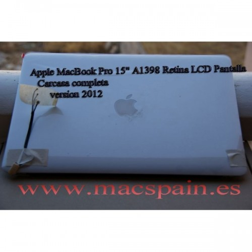 "Apple MacBook Pro 15"" A1398 Retina LCD Pantalla Assembly CARCASA 2012 -early 2013"