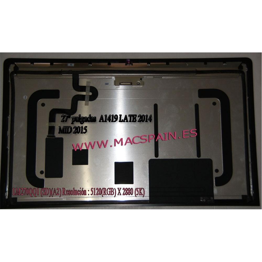 """LCD LM270QQ1 (SD) (A2) SDA2 SD A2 Para Apple iMac 27 """"A1419 MF885 MF886 MK462 MK482 Retina 5 K Pantalla LCD 2014 2015"""