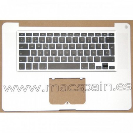Palmrest TopCase Carcasa MacBook Pro A1286 Version Español