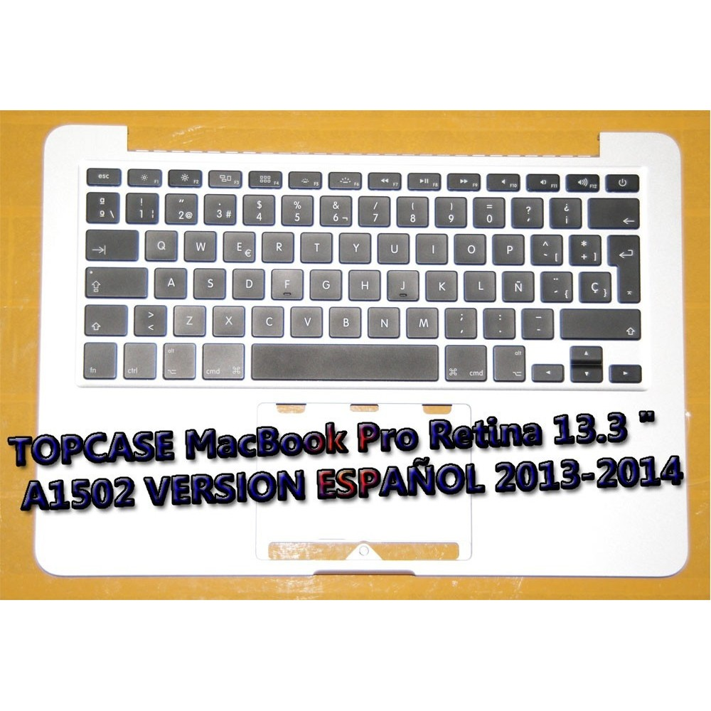 TopCase A1502 version ES 2013-2014 años original Apple